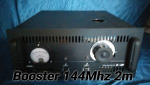 Booster 2 Meter Band Tabung 144Mhz 300 W
