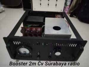 Booster 2m Band Tabung 144Mhz