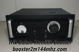 Booster 144Mhz 2 Meter Band menggunakan tabung
