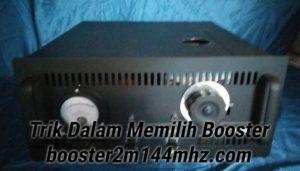 Boster 2 Meteran 144Mhz menggunakan tabung